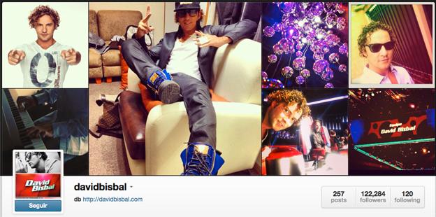 Cuenta de Instagram de Bisbal. Toño Antonio Constantino