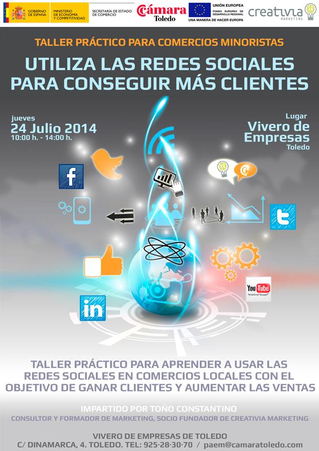 Utiliza las Redes Sociales para conseguir más clientes. Toño Antonio Constantino