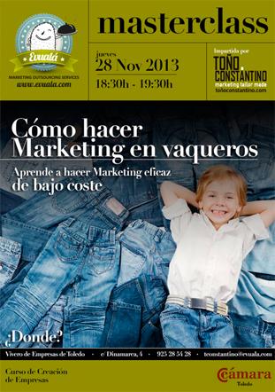 Master Class de Marketing. Toño Constantino. Antonio Constantino