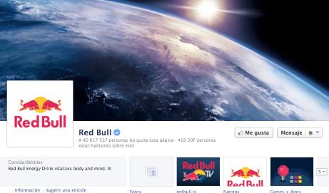 Red Bull. Caso de Éxito en Facebook. Toño Constantino